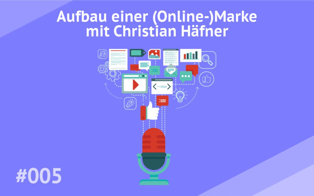 #005 – Aufbau einer (Online-)Marke mit Christian Häfner von Happy Coffee
